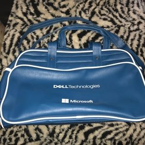 Dell blue and white 19 x 10 x 12 bag New